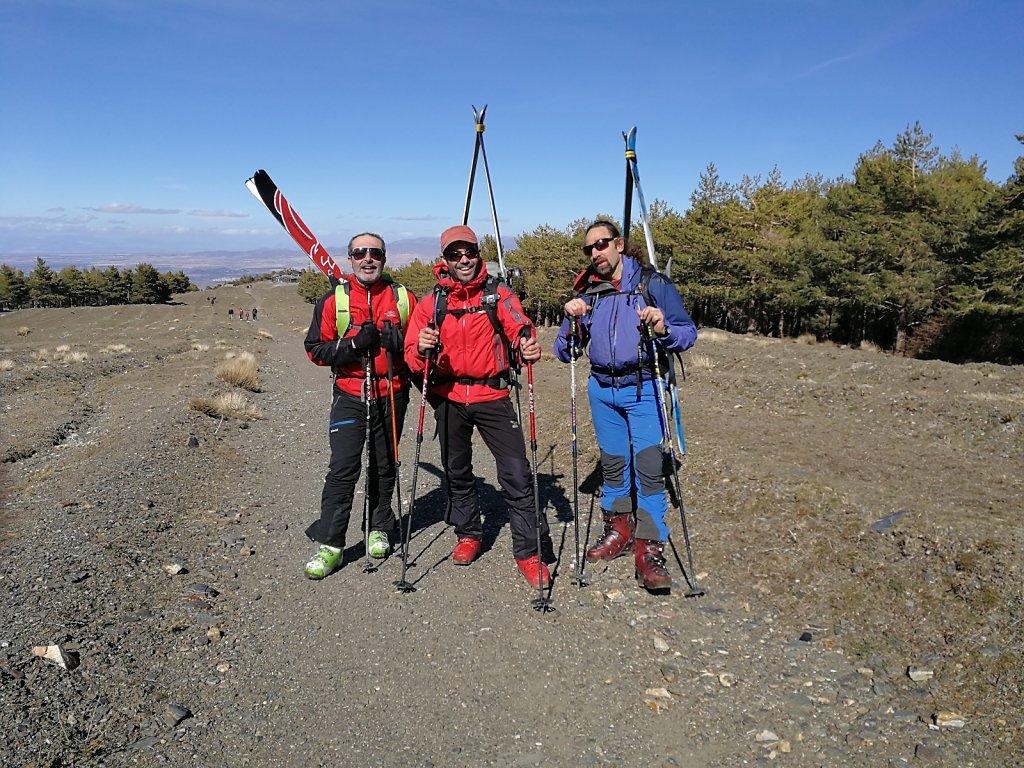 Esquí de travesía no Mulacén